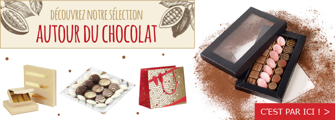 packaging pour vos chocolats